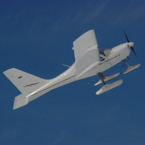 Полет на самолете А-27